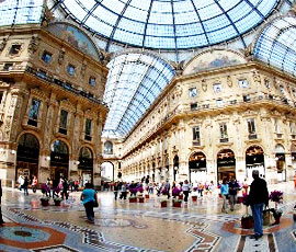 city tours shopping milano